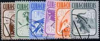 Cuba 1981 Fauna complete set of 6 fine cds used, SG 2763-68*