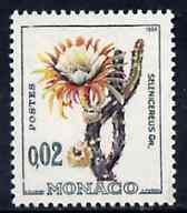 Monaco 1960 Selenicereus 2c from Plants set, SG 676 unmounted mint*