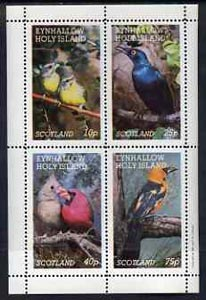 Eynhallow 1981 Birds #19 perf  set of 4 values (10p to 75p) unmounted mint