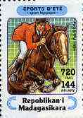 Madagascar 1994 Show Jumping 720f + 144 from Sports set of 7, Mi 1714