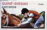 Guinea - Bissau 1988 Equestrian 10p from Seoul Olympic Games set of 7, SG 1014 unmounted mint*