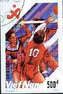 Vietnam 1990 Volleyball 500d IMPERF  from Asian Games set of 7 very fine cto used (from very limited printing) Mi 2207*