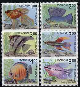 Bulgaria 1993 Fishes complete set of 6 unmounted mint, SG 3909-14, Mi 4049-54*