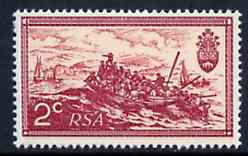South Africa 1971 Landing of British Settlers 2c with wmk reversed unmounted mint, SG 305w*