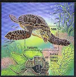 Tanzania 1995 Marine Life unmounted mint m/sheet, Mi BL 280