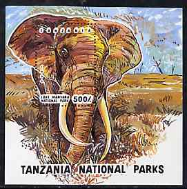 Tanzania 1993 National Parks unmounted mint m/sheet (Elephant) SG MS 1696, Mi BL 228
