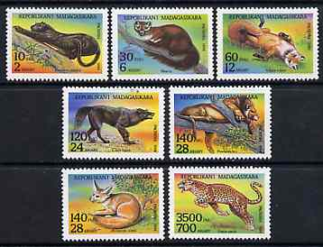 Madagascar 1994 Animals unmounted mint set of 7, Yv 1352-58*
