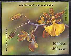 Madagascar 1993 Orchids unmounted mint m/sheet, SG MS 1132, Yv BL 90A
