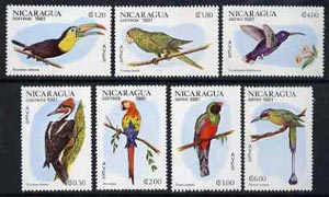 Nicaragua 1981 Birds complete set of 7 unmounted mint, SG 2304-10*