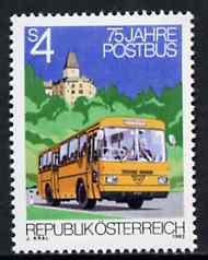 Austria 1982 Anniversary of Postbus Service unmounted mint, SG 1939