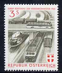 Austria 1961 European Transport Minister