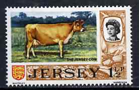 Jersey 1970-74 Jersey Cow 1.5p from Decimal Definitive set unmounted mint, SG 44*
