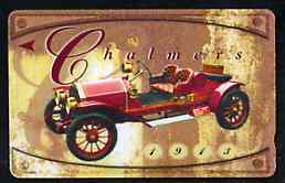 Telephone Card - Singapore $20 phone card showing 1913 Chalmers