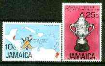 Jamaica 1976 West Indian Victory in World Cricket Cup set of 2 unmounted mint, SG 419-20