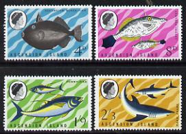 Ascension 1968 Fish - 1st series perf set of 4 unmounted mint, SG 113-6