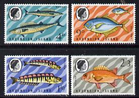 Ascension 1970 Fish - 3rd series unmounted mint set of 4 (SG 126-9)