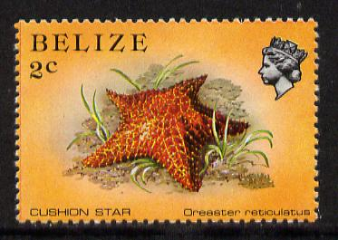 Belize 1984-88 Cushion Star 2c def unmounted mint perf 13.5 SG 767a