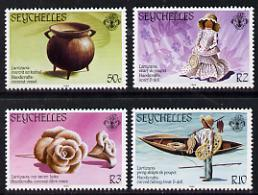 Seychelles 1984 Handicrafts set of 4 unmounted mint, SG 579-82