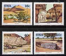 South West Africa 1988 Landmarks set of 4 unmounted mint, SG 491-94