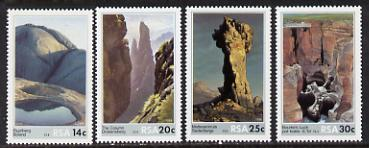 South Africa 1986 Rock Formations set of 4 unmounted mint, SG 608-11