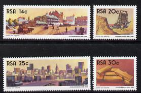 South Africa 1986 Centenary of Johannesburg set of 4 unmounted mint, SG 604-07