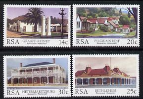 South Africa 1986 Historic Buildings set of 4 unmounted mint, SG 600-03