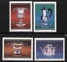 South Africa 1985 Silverware set of 4 unmounted mint, SG 590-93*