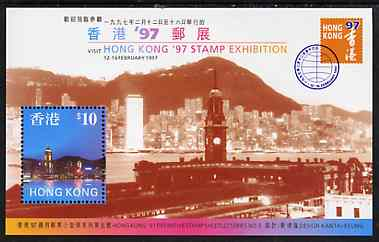 Hong Kong 1997 'Hong Kong 97' Stamp Exhibition (5th series) m/sheet unmounted mint, SG MS 873