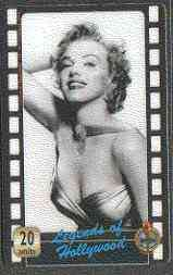 Telephone Card - Legends of Holllywood #08 - 20 units phone card showing Marilyn Monroe (black & white half-length)