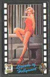 Telephone Card - Legends of Holllywood #02 - 20 units phone card showing Marilyn Monroe (colour full-length)