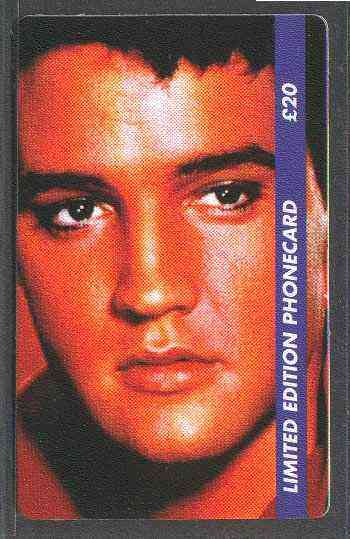 Telephone Card - Elvis Presley #4 - Limited Edition �20 discount phone card