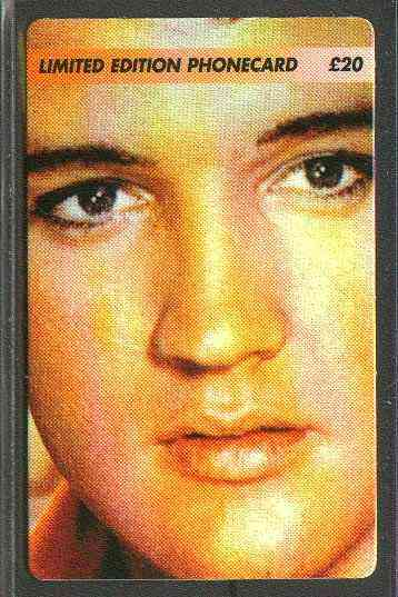 Telephone Card - Elvis Presley #7 - Limited Edition �20 discount phone card