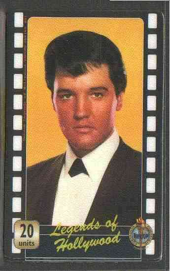 Telephone Card - Legends of Hollywood - Elvis Presley #1 - Limited Edition 20 units phone card (card No UT 0353)