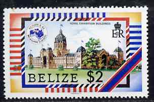 Belize 1984 Exhibition Building $2 from Ausipex set, unmounted mint, SG 797*