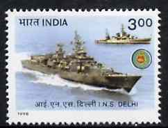 India 1998 Warships (INS Delhi) unmounted mint*