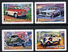 Australia 1997 Classic Cars set of 4 very fine commercially used, SG 1667-70