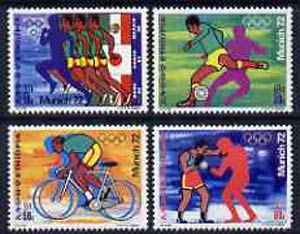 Ethiopia 1972 Munich Olympic Games set of 4 unmounted mint, SG 825-28*