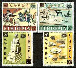 Ethiopia 1967 International Tourist Year set of 4 unmounted mint, SG 681-84