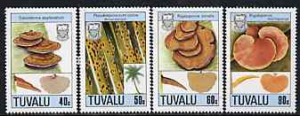 Tuvalu 1988 Fungi set of 4 unmounted mint, SG 530-33*