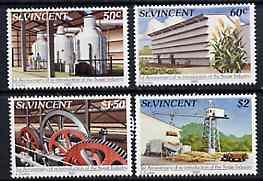 St Vincent 1982 Sugar Industry set of 4 unmounted mint SG 686-89*