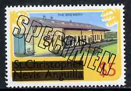 St Kitts 1980 Brewery $5 from opt