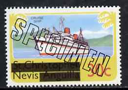 Nevis 1980 Europa (Liner) 30c from opt