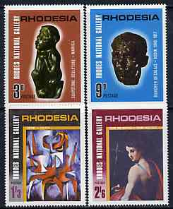 Rhodesia 1967 Rhodes National Gallery set of 4 unmounted mint, SG 414-17*
