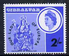 Gibraltar 1966 Our Lady of Europa unmounted mint, SG 195*