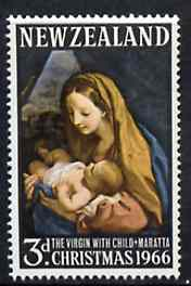 New Zealand 1966 Christmas 3d (Virgin by Maratta) unmounted mint, SG 842*