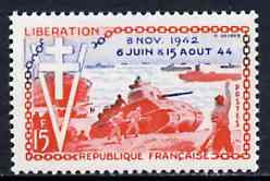 France 1954 Tenth Anniversary of Liberation unmounted mint, SG 1204*