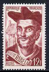 France 1950 Francois Rabelais (writer) unmounted mint, SG 1094*