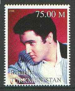 Turkmenistan 1999 Elvis Presley from Events & People of the 20th Century unmounted mint