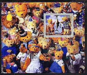 Touva 1998 Teddy Bears perf m/sheet unmounted mint