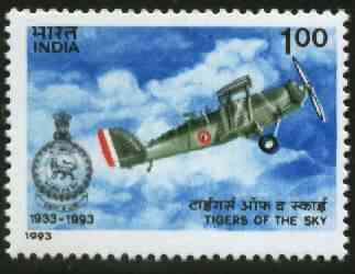 India 1993 60th Anniversary of No.1 Squadron, Indian Air Force unmounted mint, SG 1534*